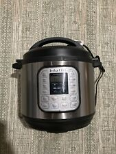 Instant Pot DUO80 8 Quart 7-in-1 Slow Cooker - Silver