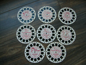 Vintage Sawyer View-Master 14 Scene Disney Reels Non-Stereo Lot of 12 Reels