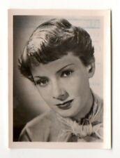 Ruth Leuwerik 1951 Greiling Film Star Series E Cigarette Card #3