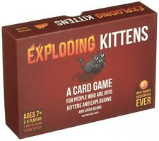 Exploding Kittens: A Card Game About Kittens and Explosions Sometimes Goats