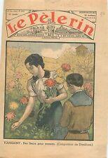 All Saints' Day 1er novembre Toussaint Orphelins Fleurs Allerheiligen 1936