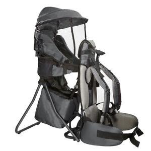 ClevrPlus Baby Backpack Camping Hiking Child Kid Toddler Carrier Shade Visor