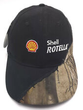 SHELL ROTELLA OIL black / camouflage adjustable cap / hat ** NEW **