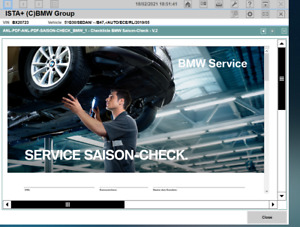 Ista+ Ista-D BMW Diagnostic Software One Click Installation