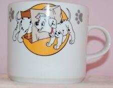 Walt Disney 101 Dalmatians Dalmatiens Guy Degrenne Porcelaine Cup Mug RARE EUC