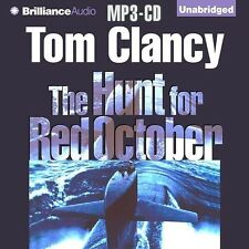 Tom CLANCY / The HUNT for RED OCTOBER    [ Audiobook ]