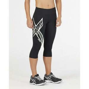 2XU Women's Ice-X Mid-Rise Compression 3/4 Tight - 2018 - Size X-Large