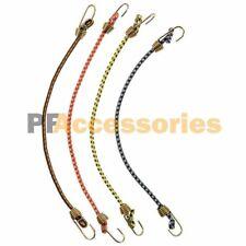 "4 Pcs Mini Bungee Cord Strap Heavy Duty Tarp Bungie Elastic Tie Down 10"" inch"