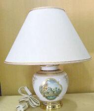 Lampe Leuchte Tischlampe Kaminleuchte # Kaiser Porzellan - Miniaturmalerei