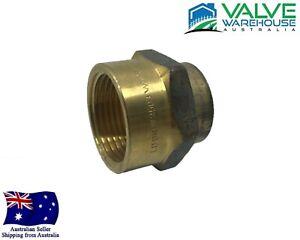"Brass Reducing Sockets - Female x Female BSP - 8x6mm(1/4x1/8"") - 25x20mm(1x3/4"")"