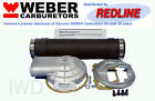 WEBER Carb Remote Air Cleaner Adapter Snorkel Kit 32/36 DGV DGEV DGAV 38/38 DGAS