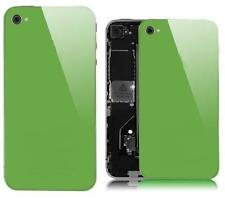 Green Glass Back Screen Replacement Rear Case Cover Assembly for iPhone 4S