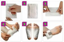 Kinoki Detox Foot Patches 10 Pads Body Toxins Feet Cleansing Herbal Slimming
