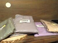 Blair Women's Polyester Weave Elastic Waist Pants  SZ PLUS 30W 32W 34W NEW
