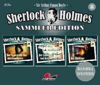 SHERLOCK HOLMES SAMMLER EDITION - FOLGE 8  3 CD NEW