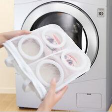 Mesh Shoes Protector Washing Bag Laundry Storage Organizer Dry Holder Useful #ur
