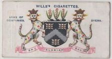 Worshipful Company Of Dyers Clothes Coloring 100+ Y/O Trade Ad Card
