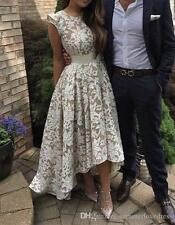 High low Formal Evening Dress Cocktail Celebrity Pageant Party Prom Gowns Custom