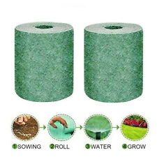 Green Grass Seed Mat Biodegradable Seed Starter Fertilizer Mat Garden Picnic