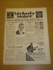 MELODY MAKER 1934 JAN 27 HOWARD JACOBS LEW STONE LOUIS ARMSTRONG BIG BAND SWING