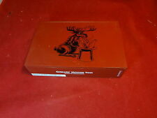 Foundry Chillin' Moose Too Gigante Slide Top Wood Cigar Box