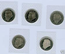 BRD  2 DM Franz Josef Strauß 1997 - 2001 ADFGJ  stempelglanz oBH  (25 Münzen)