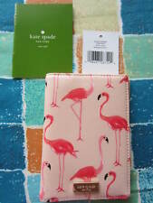 Kate Spade Shore Street Flamingo Passport Holder Flamingo Passport Cover--NWT