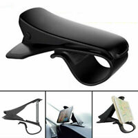 Universal Clip On Car HUD GPS Dashboard Mount Cell Phone Holder Non-slip Stand -