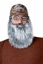 Duck Dynasty Men's Uncle Si Plush Accessory Kit, Silver, One Size