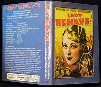 LADY BEHAVE! DVD 1937 Sally Eilers Neil Hamilton Joseph Schildkraut