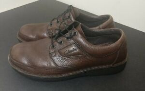 Clarks Nature Active Air Brown Pebbled Leather Comfort Loafers 10