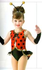 Lady Bug Ladybug Dance Costume and Headpiece Baby Halloween Child X-Small 2-3yr