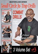 Combat Small Circle Ju-Trap Drill Series Vol-1-2-3 Set by James Hundon