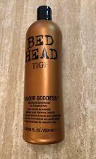 TIGI Bed Head Colour Goddess Oil Hair Conditioner 750ml Gold Damaged Frizz Large