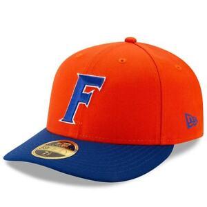 Florida Gators New Era Basic Low Profile 59FIFTY Fitted Hat - Orange/Royal