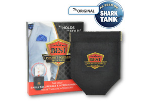 Best Pocket Square Holder - Black - One Size - Made in USA