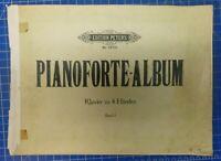 Pianoforte Album Edition Peters Nr.1978a Klavier-Noten 4 Händen B-25055