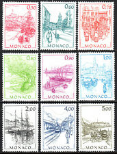 Monaco 1516-1524, MNH. Views of Old Monaco by Hubert Clerissi, 1986