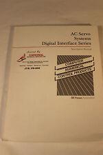 GE FANUC GFZ-65002E AC SERVO SYSTEMS DIGITAL INTERFACE DESCRIPTIONS  MANUAL