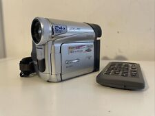Panasonic NV-GS11EB Camcorder - Black/Silver With Remote. NO BATTERY CHARGER