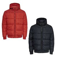 Only & Sons Mens Padded Puffer Jacket Quilted Lightweight Casual Hooded Coats