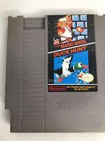 NES Nintendo Official Authentic Cartridge Mario Bros. Duck Hunt
