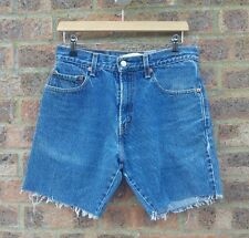 "Vintage Levi 517 cut off shorts 31"" waist - unisex levi denim jean shorts"