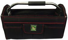"16"" Plumbers Builders Tool Box Tote Bag Case Electrician Carpenter Technician"