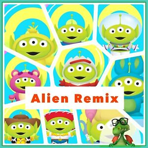 Disney Collect Topps - Alien Remix Craftables w/Awards  -  24 Digital Cards