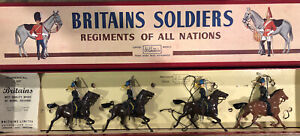 Britains: Boxed Set 2075 - The 7th Hussars.  Post War c1960