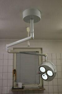 Dr. Mach Triaflex OP- Leuchte, Halogen, aus Tierarztpraxis, gebraucht
