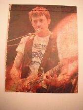 Graham Coxon Guitarist 12x9 Coffee Table Book Photo Page