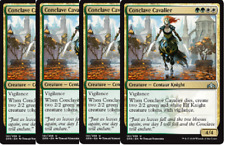 4x Conclave Cavalier  -NM MTG Guilds of Ravnica Gold Uncommon