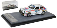 Arena Vauxhall Chevette HSR RHD 'DTV Systime' RAC 1983 - Tony Pond 1/43 Scale
